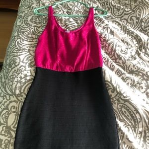 Express cocktail bodycon dress XS